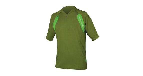 Endura Singletrack Lite Jersey korte mouwen Heren groen